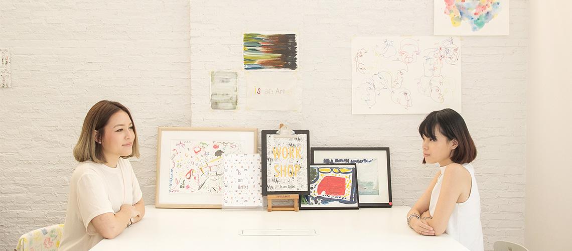 Is an Artist ศิลปินสาวผู้ใช้ศิลปะเยียวยาผู้อื่น
