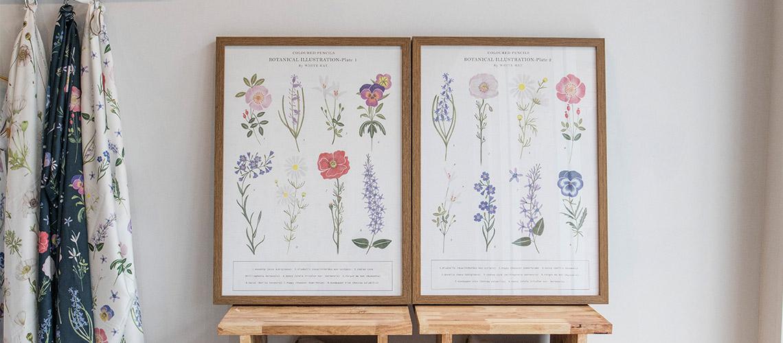 ช่วงเวลาแห่งการผลิดอก ของศิลปินสาวผู้ห้อมล้อมด้วยดอกไม้ WHITE HAT.