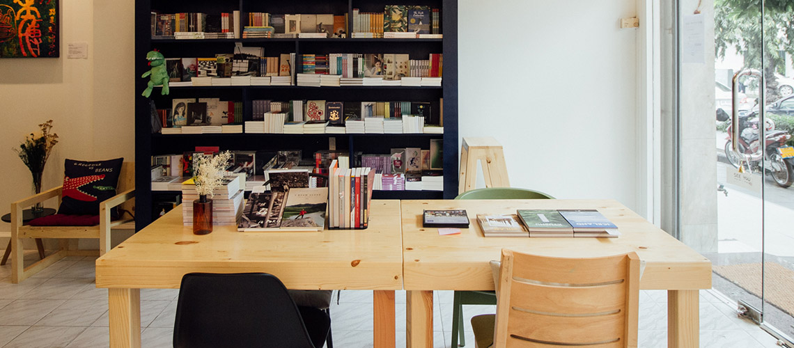 Fathom Bookspace : ร้านหนังสือเล็กๆ ที่ใช้หนังสือและศิลปะเป็นเครื่องมือเยียวยาจิตใจ