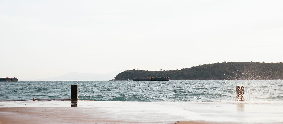 Scenes by the sea