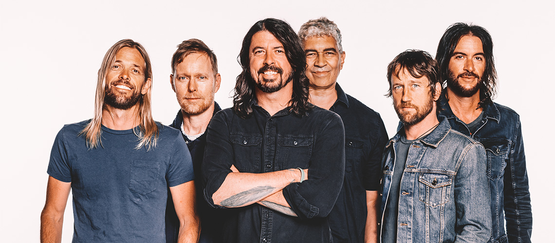 a day with Foo Fighters