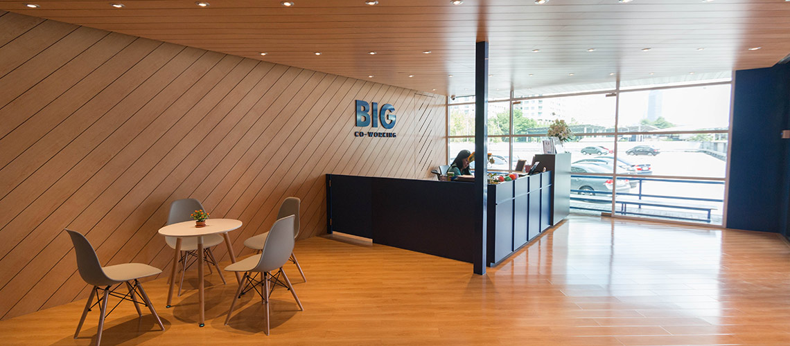 BIG Co-working Space : โคเวิร์กกิ้งสเปซพันธุ์แท้ที่คิดทุกเม็ดมาเพื่อคนทำงาน