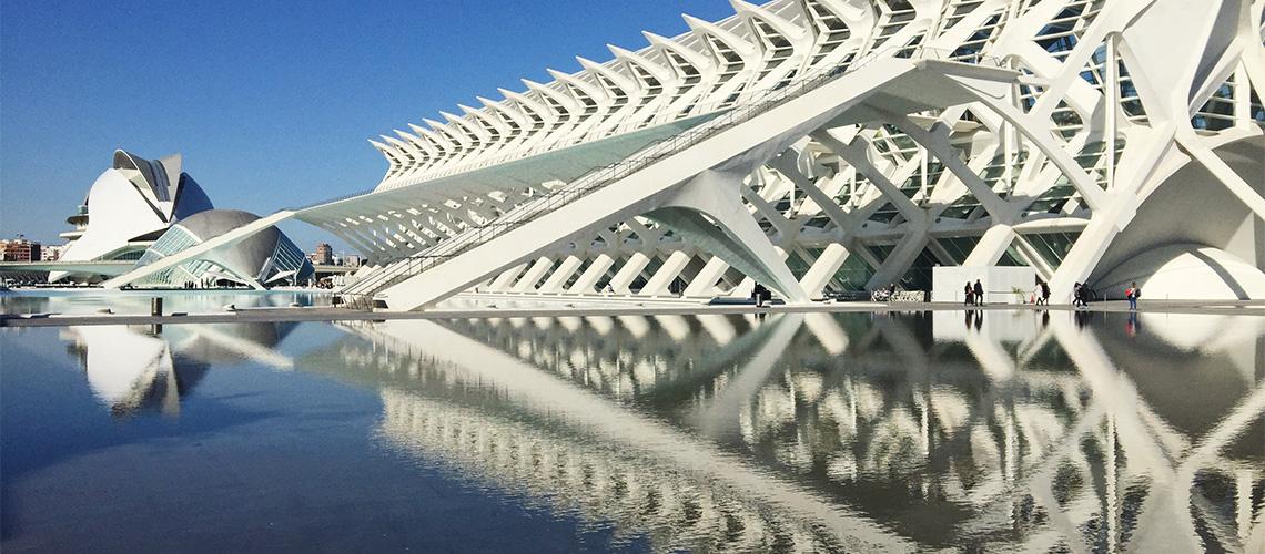 The City of Arts and Sciences : สถาปัตยกรรมแห่งอนาคตในโลกปัจจุบันใจกลางบาเลนเซีย