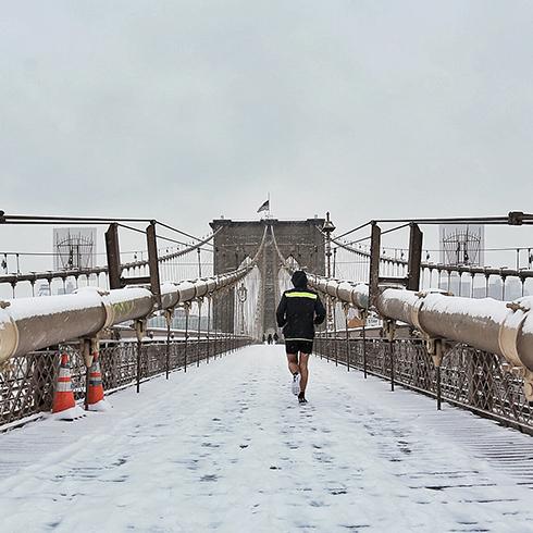 SNOWY NEW YORK