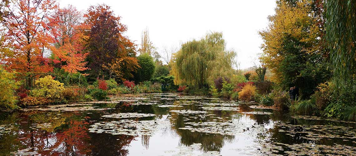 Giverny : ตามรอย 'ความประทับใจ' ในภาพเขียนของโคลด์ โมเน่ต์ (Claude Monet)