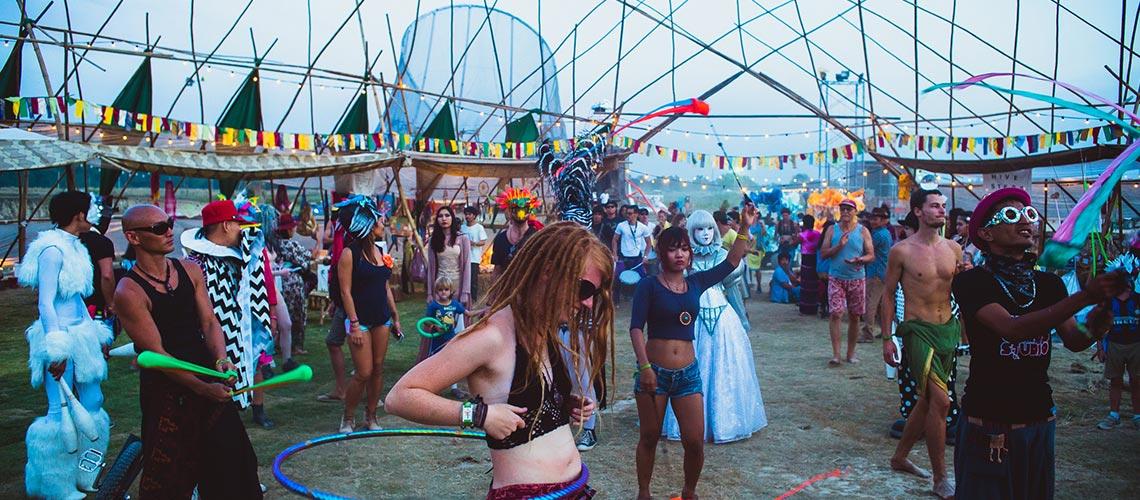 Wonderfruit Festival : เทศกาลเฉลิมฉลองความสนุกผ่านงานศิลปะที่เริ่มต้นคิดจากคำว่าชีวิตที่ดีและโลกที่ยั่งยืน