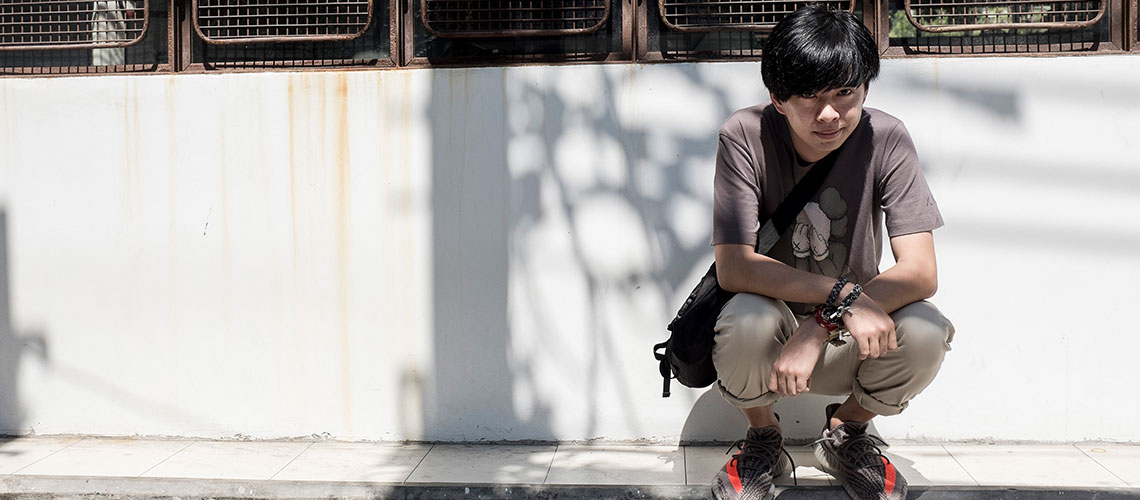 สิรภัทร เตชะสกุลนภาพร : เด็กปี 3 ผู้อยู่เบื้องหลังงานรวมพลคนรักรองเท้าผ้าใบที่ใหญ่ที่สุดในประเทศไทย
