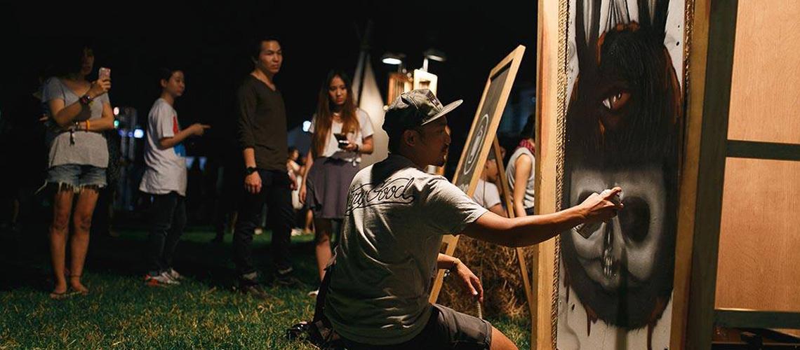 ตามไปดูงานศิลปะและทำความฝันให้เข้าใกล้ความจริงมากยิ่งขึ้นที่งาน 'SangSom DekSaiSilp'