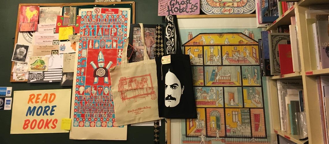Bookartbookshop : ร้านหนังสือที่อัดแน่นไปด้วยหนังสือทำมือจากศิลปินทั่วโลก