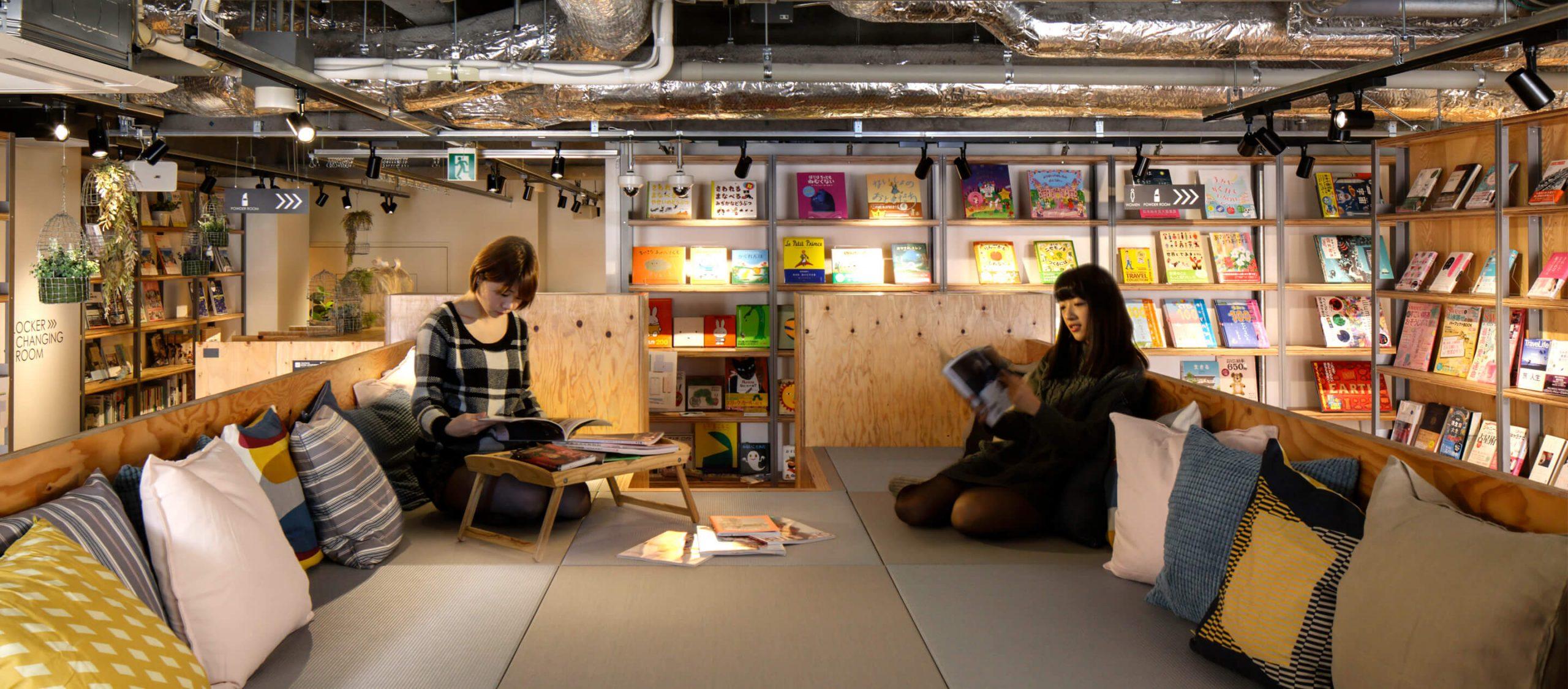 TSUTAYA BOOK APARTMENT : อพาร์ตเมนต์ใจกลางชินจูกุที่มีหนังสือเป็นเจ้าบ้านรอให้ทุกคนมาตกหลุมรัก