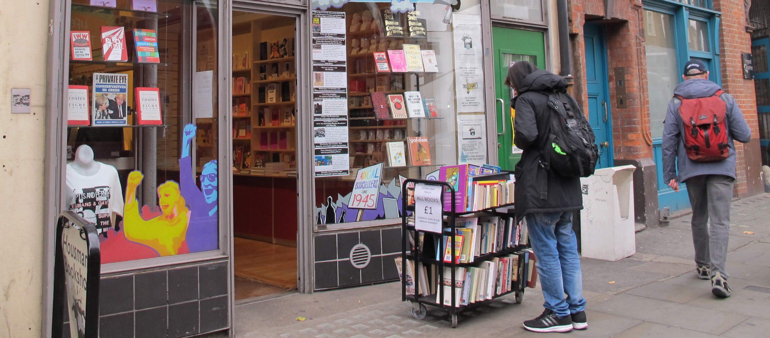 Housmans Bookshop ร้านหนังสือที่ทำให้เรามองเห็น 'การเมือง' ในทุกเรื่องของชีวิต