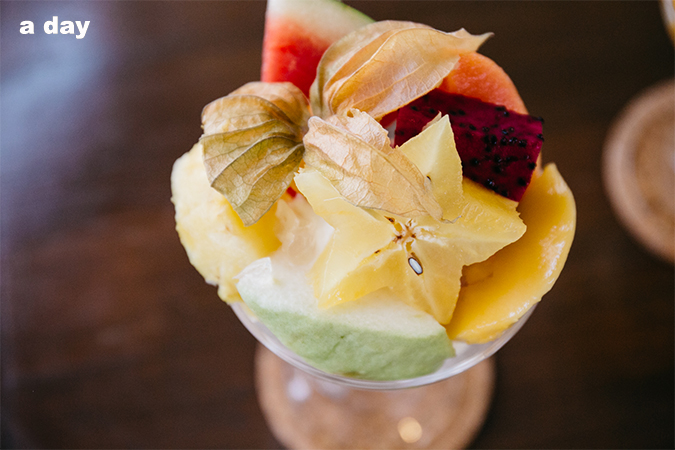 parden, fruit parfait, zakka