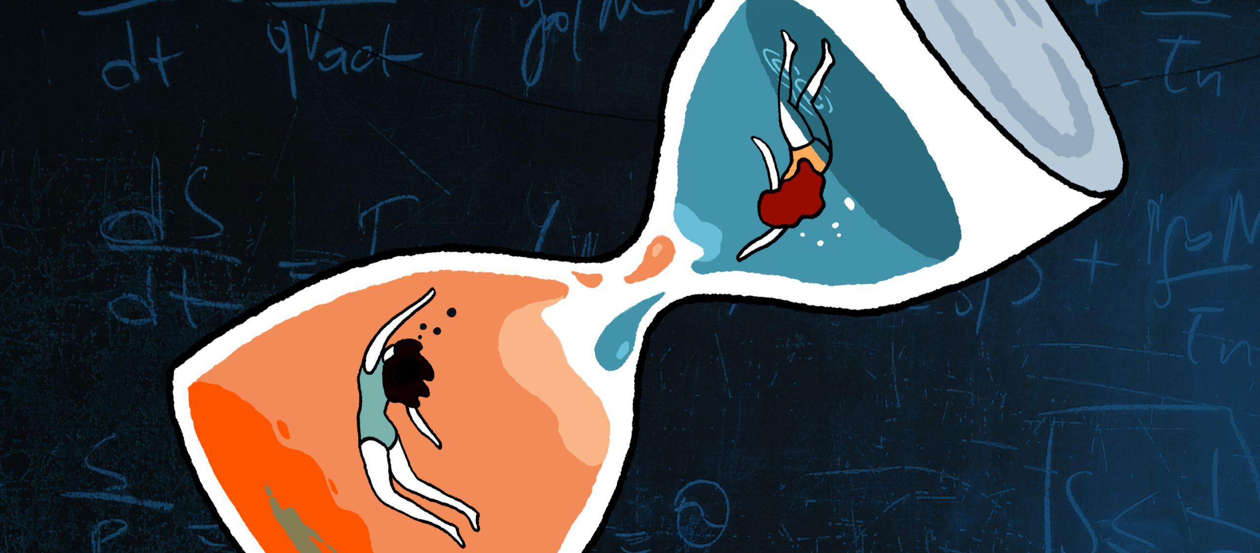 ว่ายน้ำในน้ำเชื่อมกับว่ายน้ำในน้ำเปล่า อย่างไหนจะเร็วกว่ากัน?