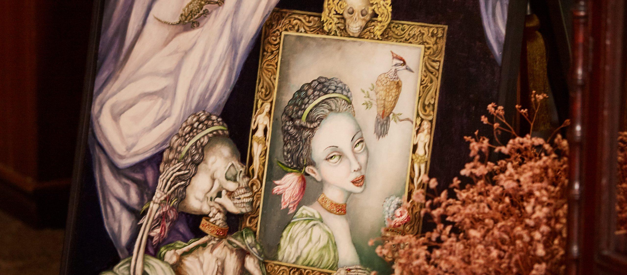 'Beauty and Ugliness' หม่อมเจ้ามารศีฯ ศิลปินผู้เปิดเปลือยความเป็นและความตาย