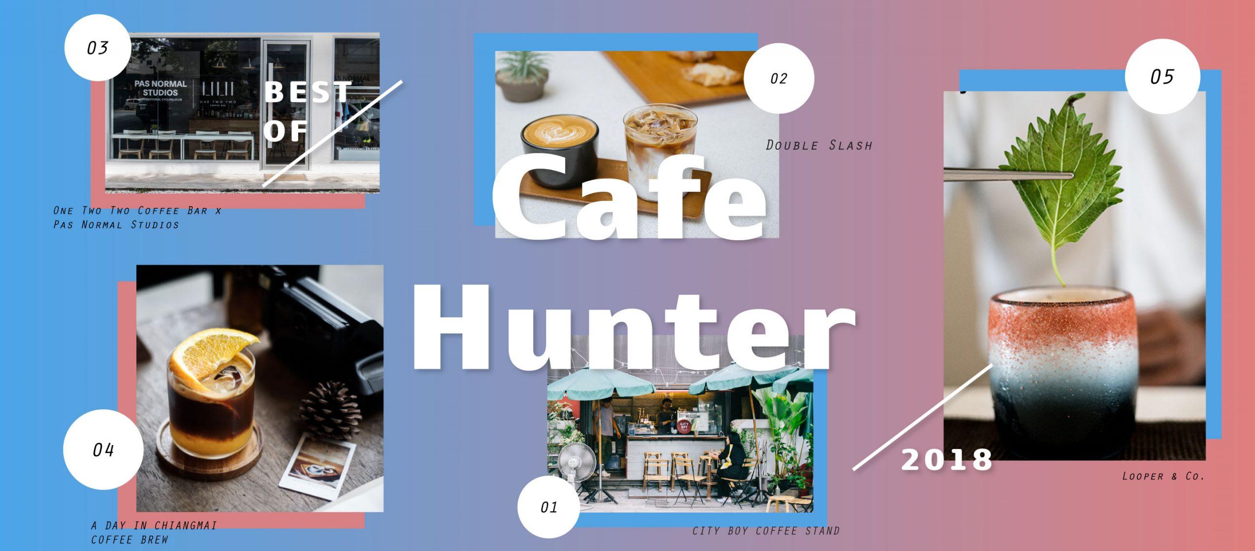 best of a day online : café hunter