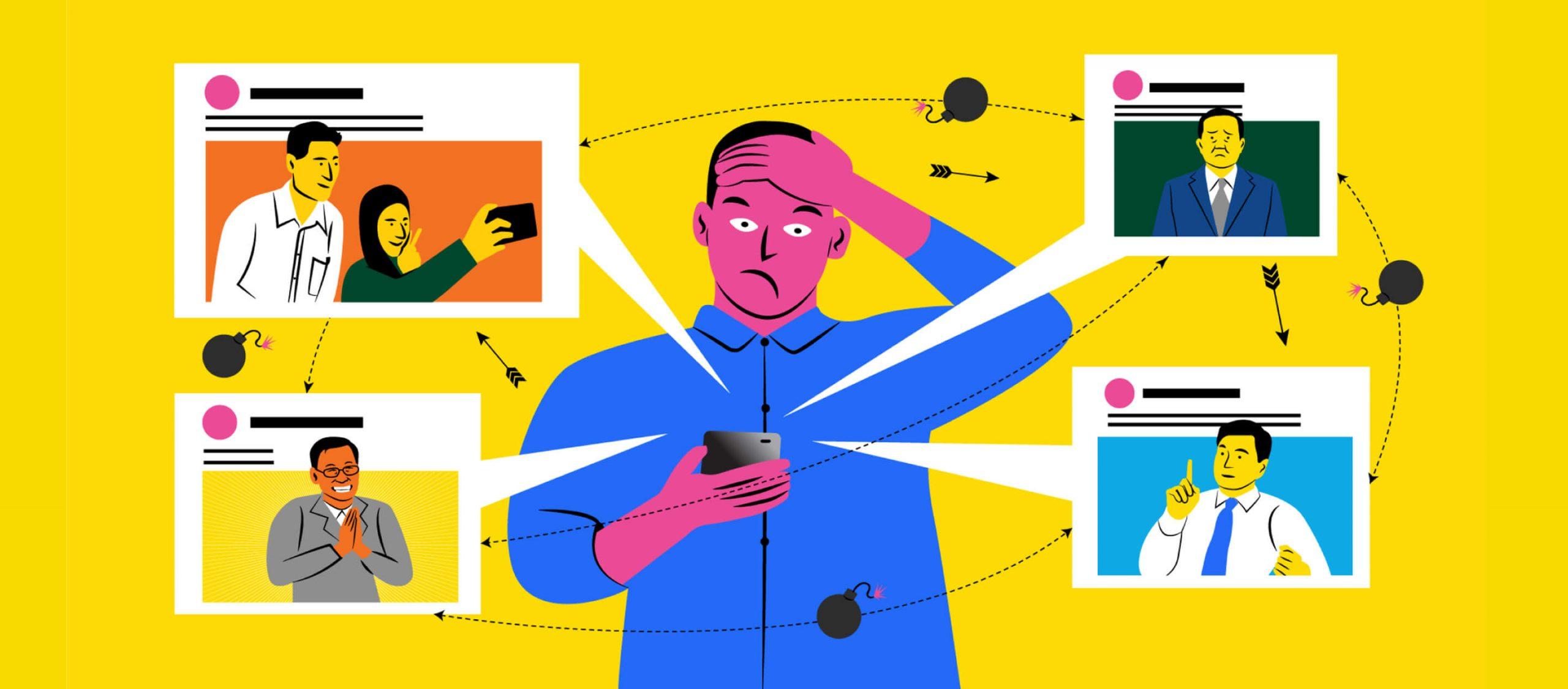 โอกาส การแข่งขัน และดราม่า เมื่อโลกออนไลน์กลายเป็นสนามใหญ่ของการหาเสียง