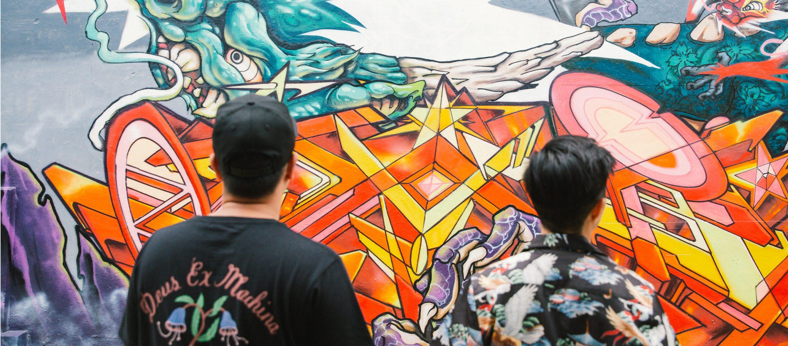 สำรวจ 'The Unknown World' โลกอีกใบของสิงคโปร์กับศิลปินสตรีทอาร์ต Sam Lo & Rukkit