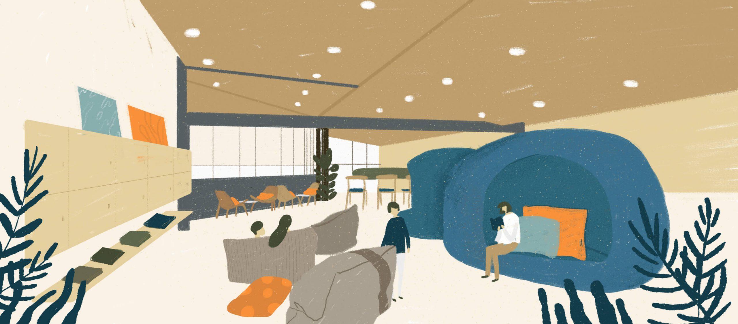 TRIPLE Y RESIDENCE ที่พักรูปแบบใหม่ที่ครบครันในโครงการสามย่านมิตรทาวน์