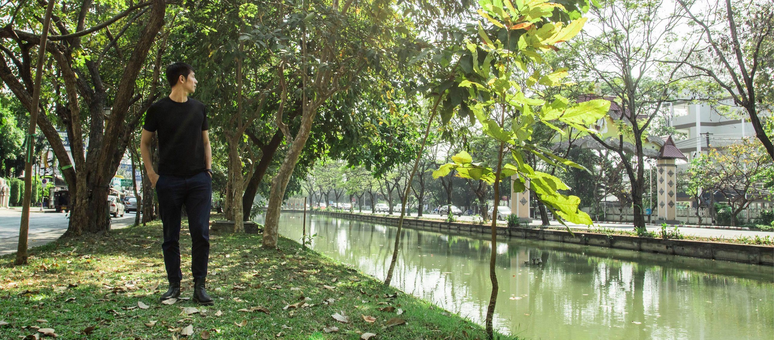 ปอ ภราดล และ 'มือเย็นเมืองเย็น' โปรเจกต์ปลูกต้นไม้ที่อยากเห็นเชียงใหม่เย็นขึ้นเร็วๆ