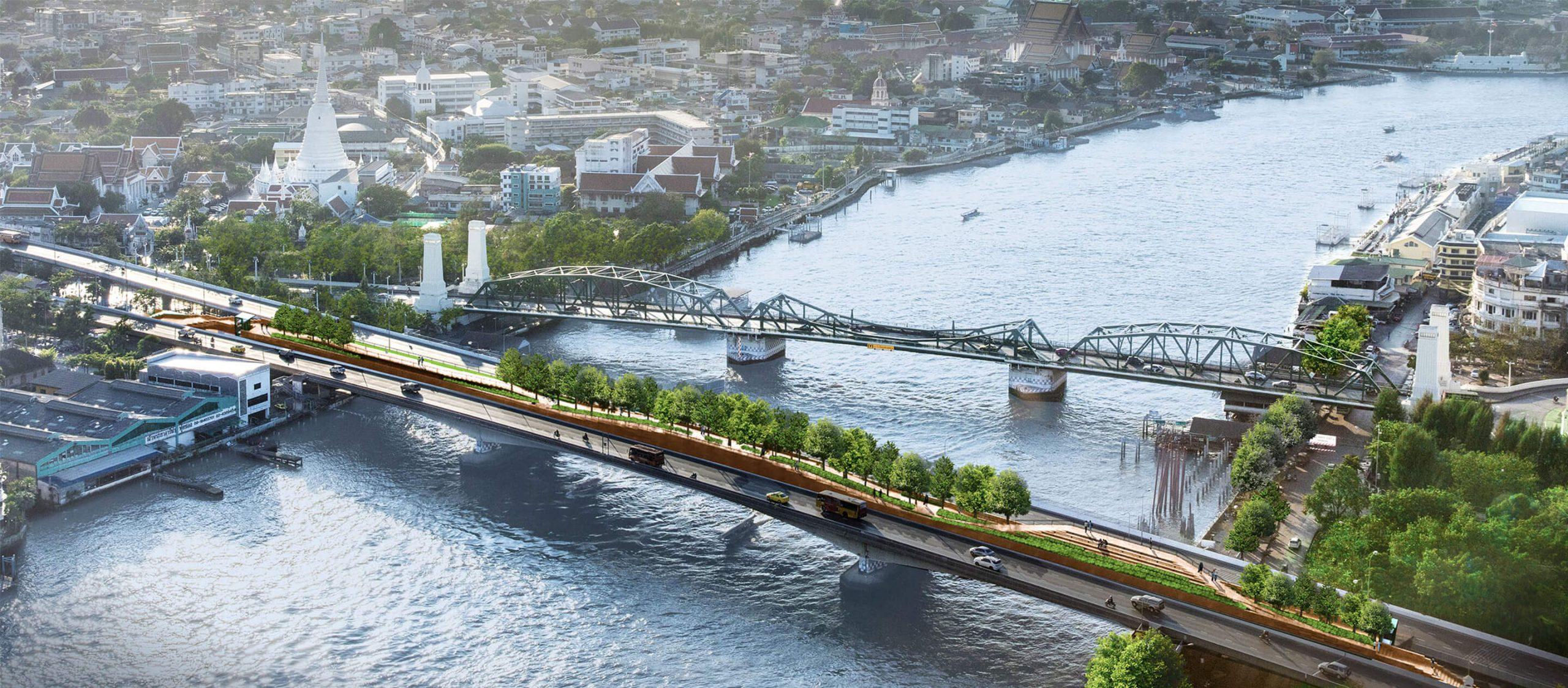 พระปกเกล้าสกายปาร์ค : เปลี่ยนสะพานด้วนริมแม่น้ำเจ้าพระยาให้เป็นสวนลอยฟ้าคนเดิน