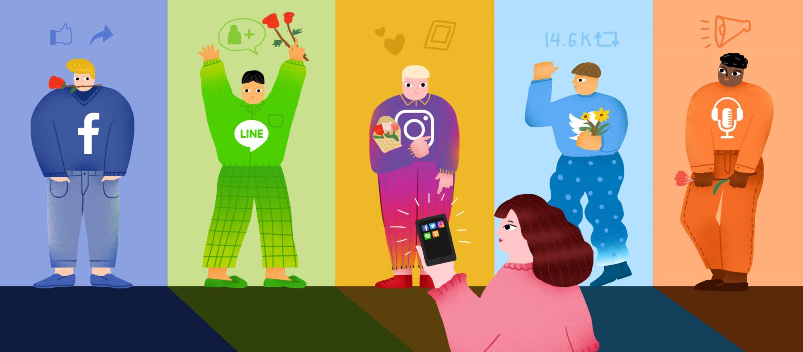 สื่อใหม่ใช้แพลตฟอร์มไหนดี? โลกในยุคที่สื่อดิจิทัลหลากหลายเกินกว่าเฟซบุ๊ก