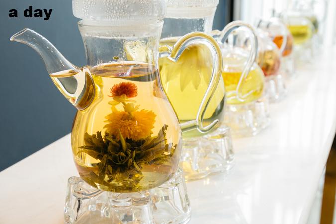 CHAR flower tea