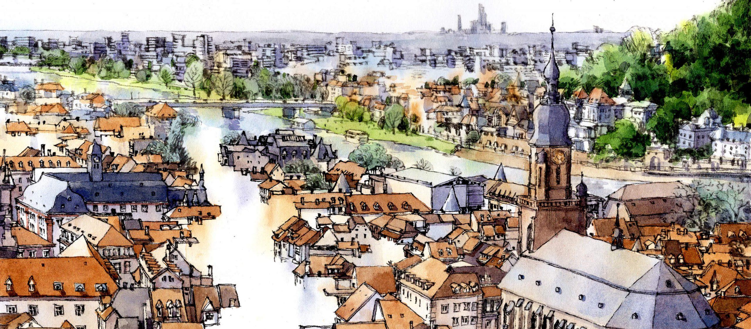 Cities Heidelberg : วรรณกรรมและวิทยาศาสตร์ ในบรรยากาศเมืองมหาวิทยาลัย