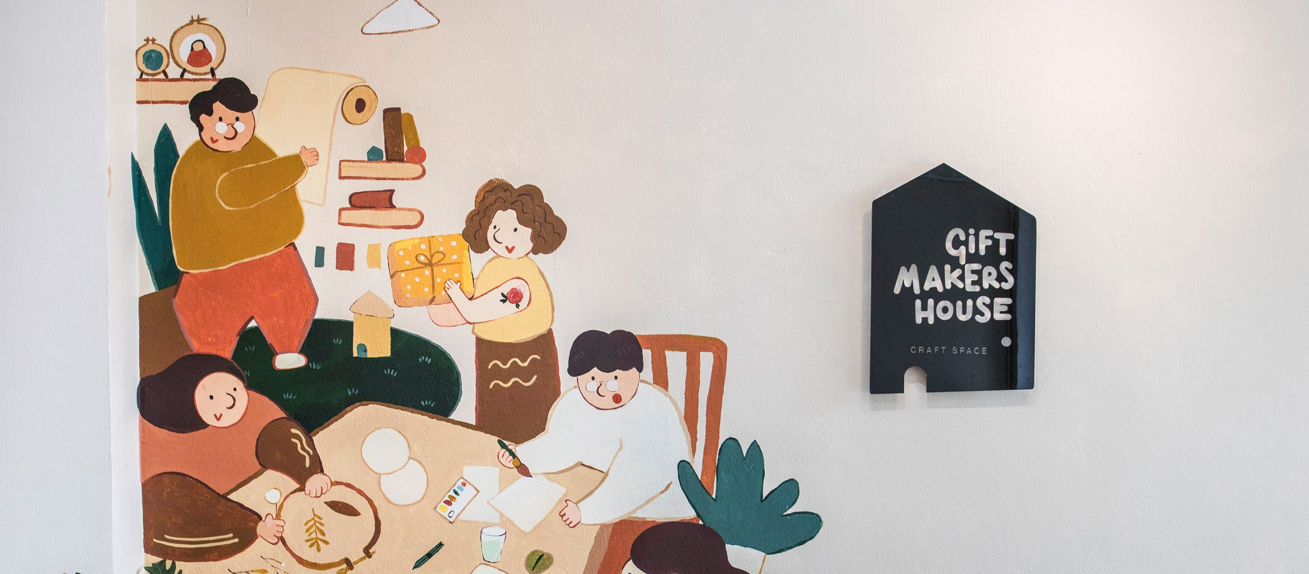 Gift Makers House : สตูดิโอคราฟต์ที่ชวนทุกคนทำของขวัญแทนใจด้วยมือตัวเอง