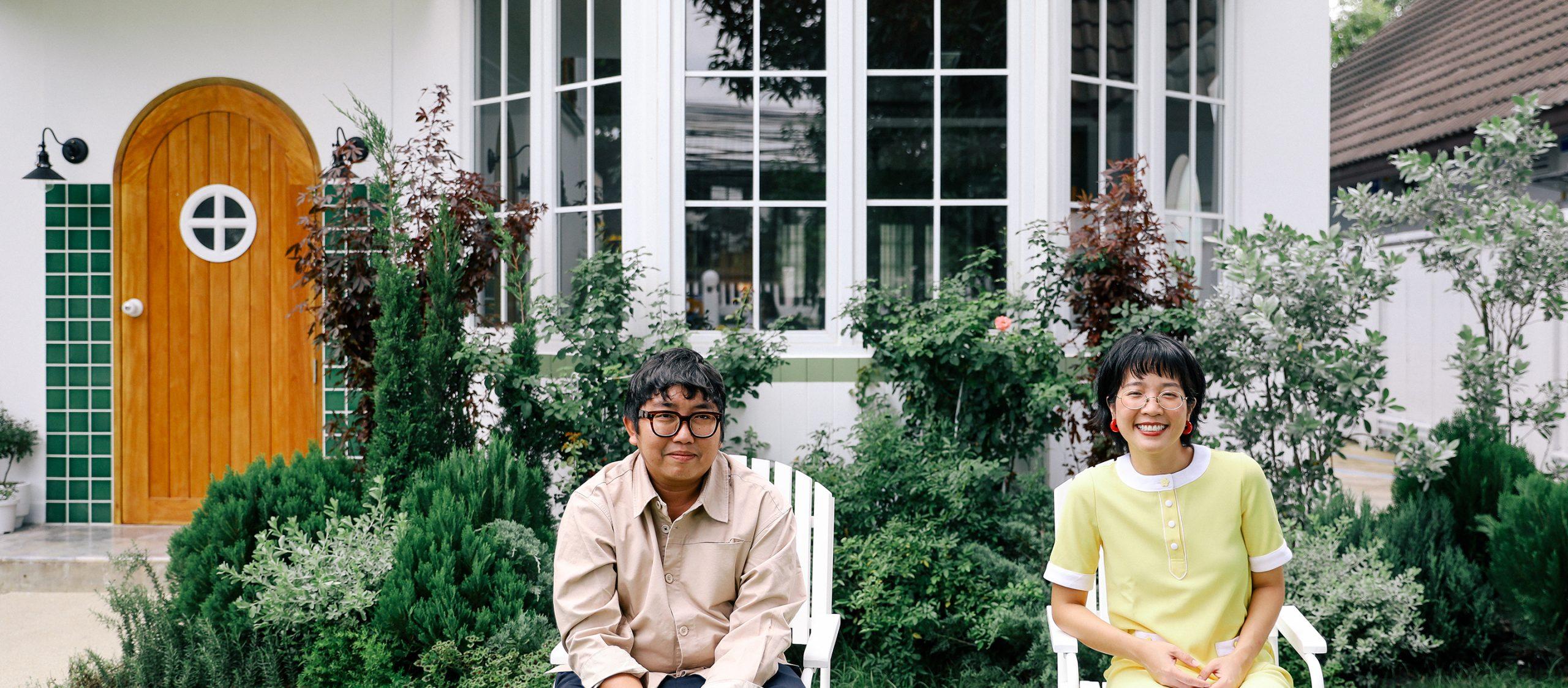 Sailom Sangdad Homey Studio สตูดิโอมีชีวิตของ 'มานีมีใจ' ที่เหมือนหลุดเข้าไปในหนังเวส แอนเดอร์สัน