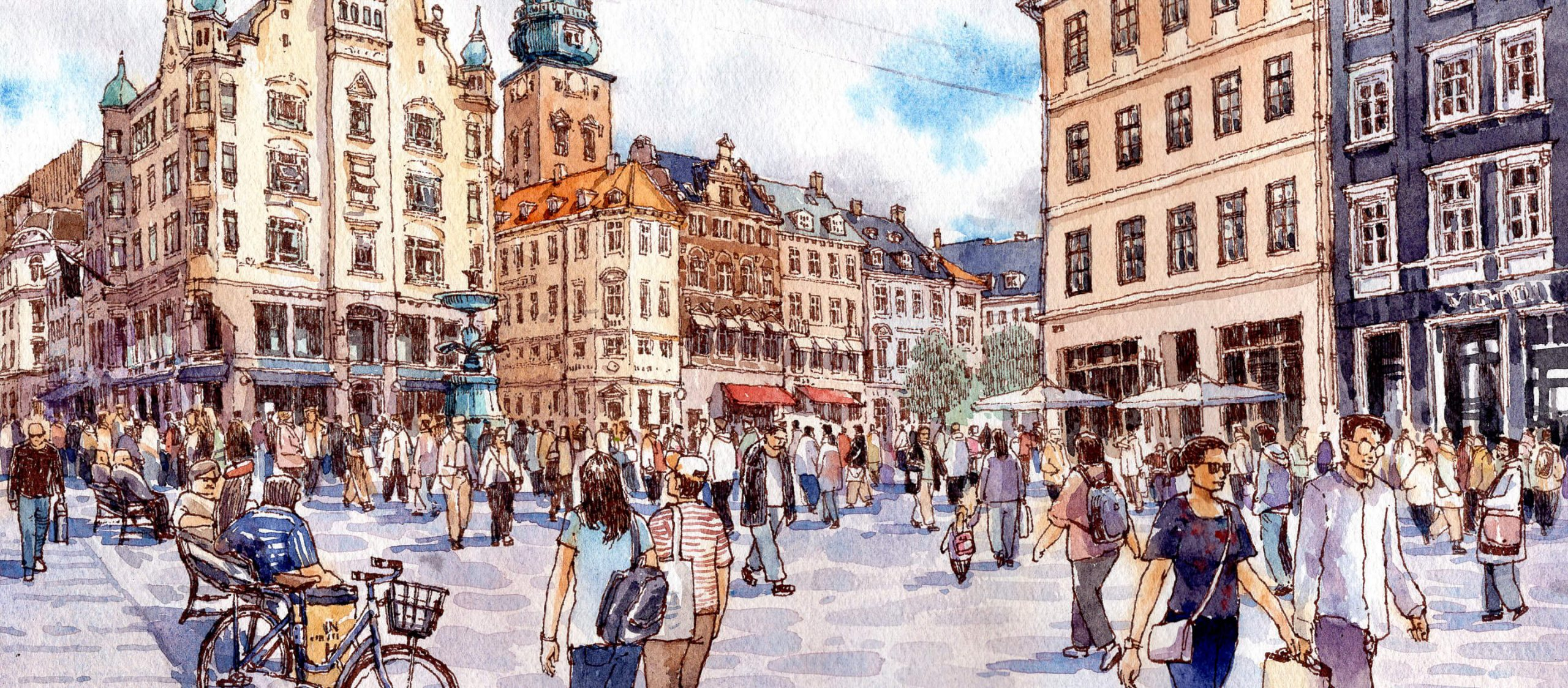 Public Life in Copenhagen เมืองมากจัตุรัส สวรรค์แห่งพื้นที่สาธารณะ
