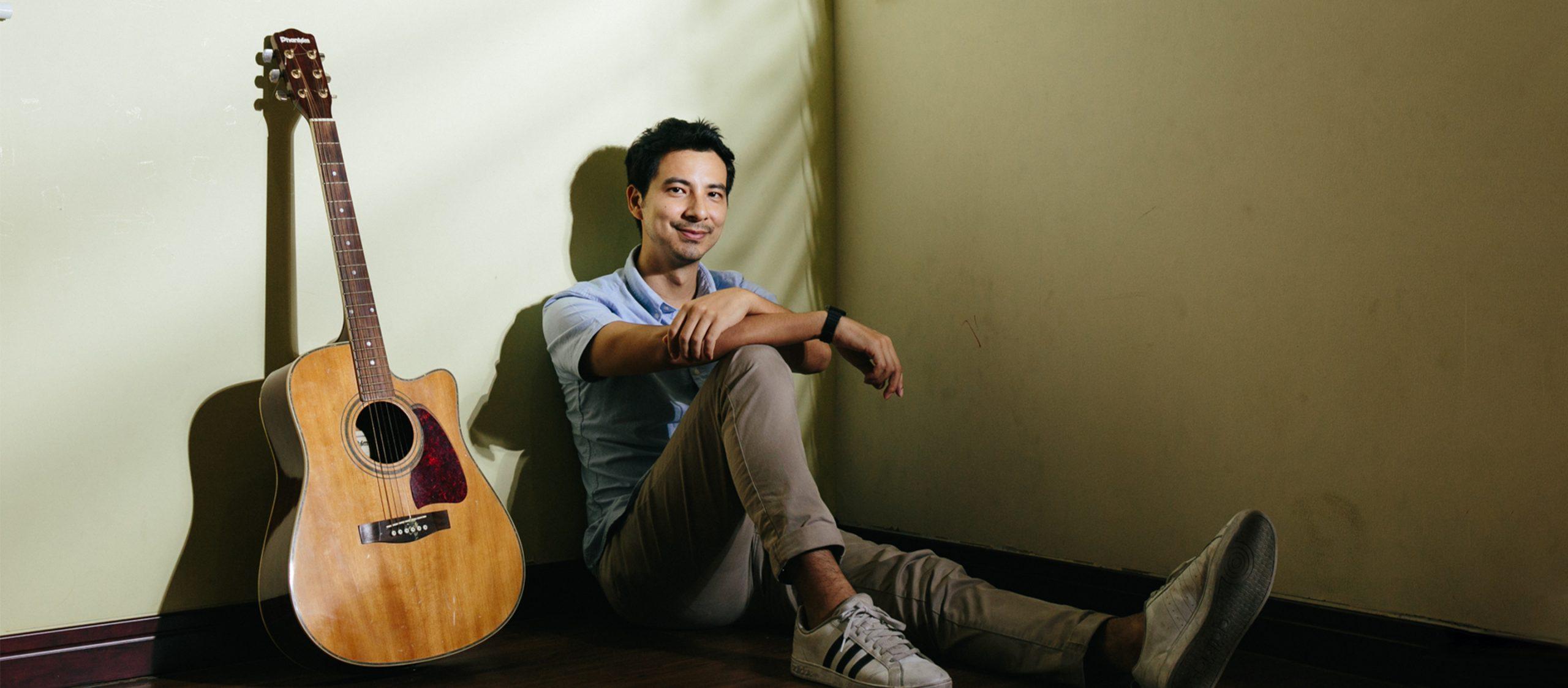 โจเซฟ ซามูดิโอ นักดนตรีบำบัดที่เชื่อว่าดนตรีใช้สื่อสารความรู้สึกถึงกันและกันได้