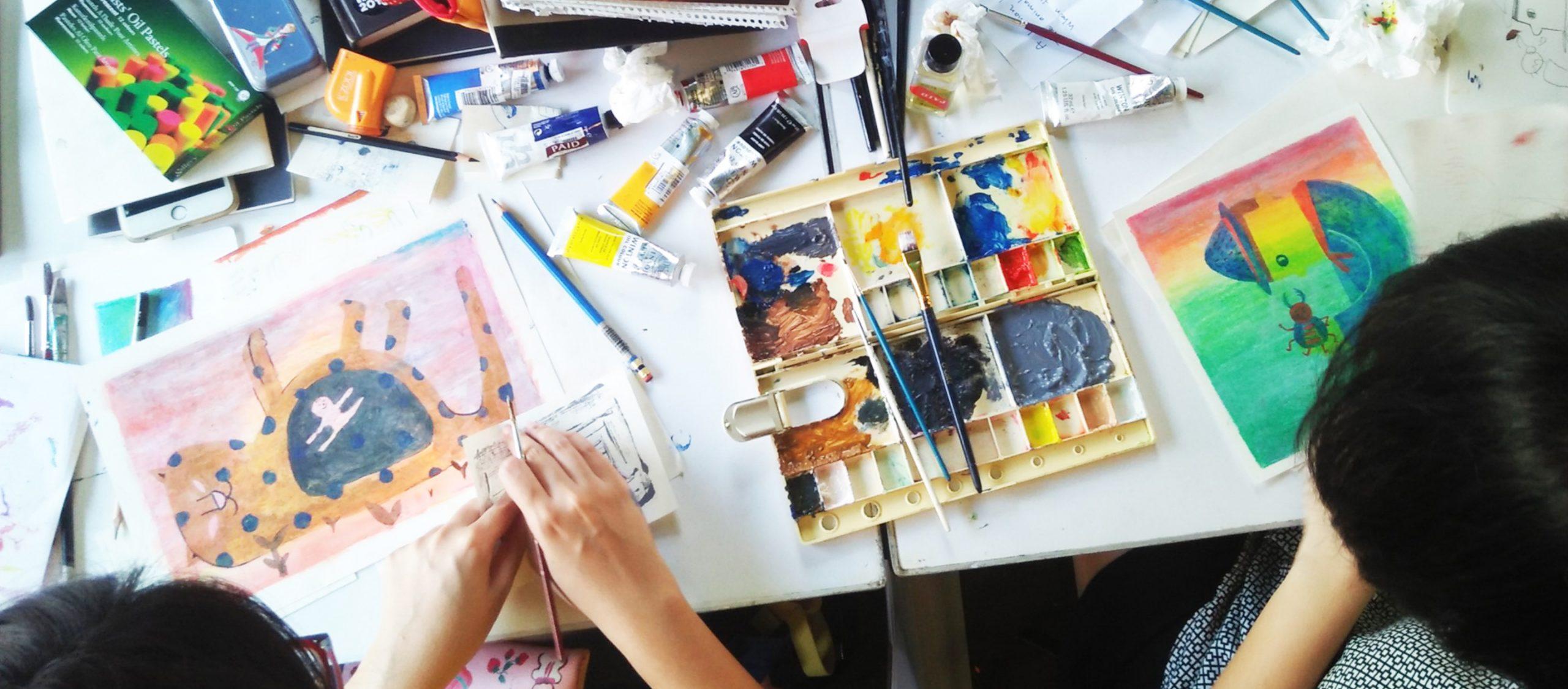 ทิ้งความกลัวแล้ววาดด้วยความอิสระและกล้าหาญ เวิร์กช็อปครั้งแรกในไทยของ Jesús Cisneros