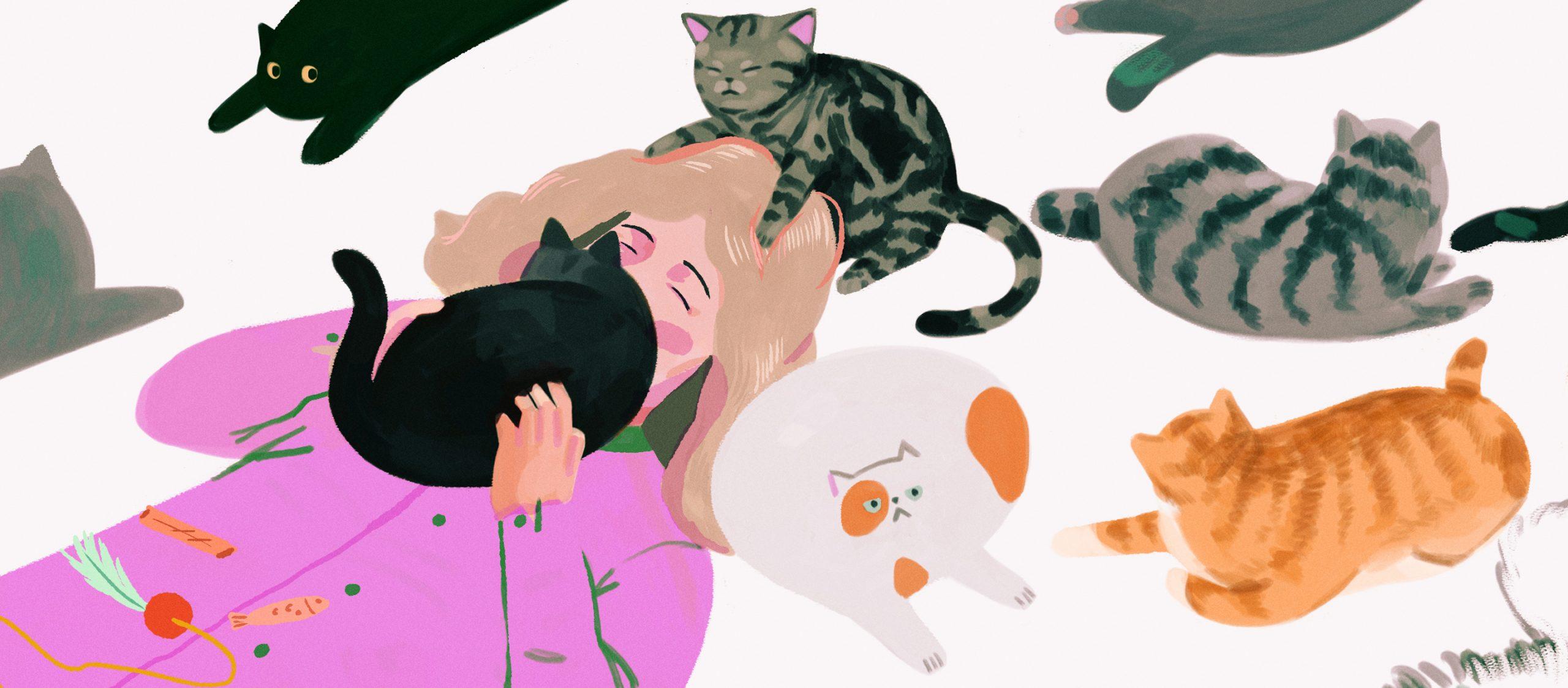 cat therapist แมวสายเอนฯ ผู้รับบทเป็นนักบำบัดจิตใจมืออาชีพในญี่ปุ่น