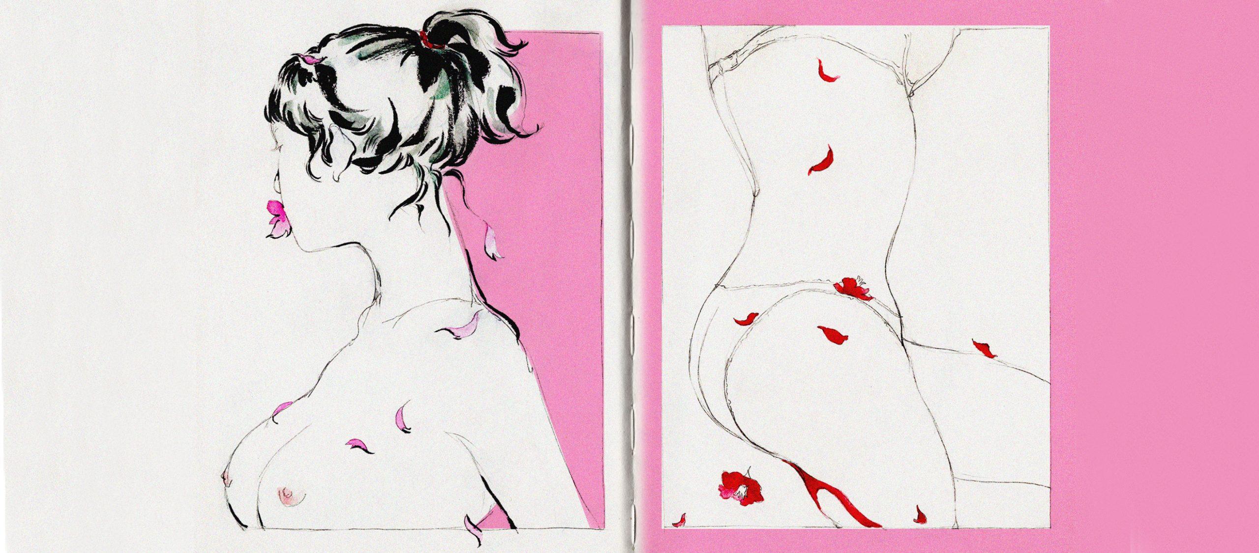 ลื่นไหลในเพศภาวะ Naisu.Chirat นักวาดที่ตั้งคำถามกับเพศและอำนาจผ่านการ์ตูนโป๊