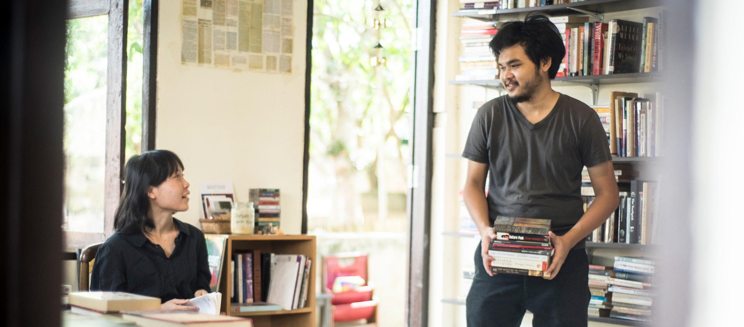 Being in the Book : ร้านหนังสือมือสองที่อยากเป็นมือหนึ่งในการส่งมอบความสุขให้นักอ่าน