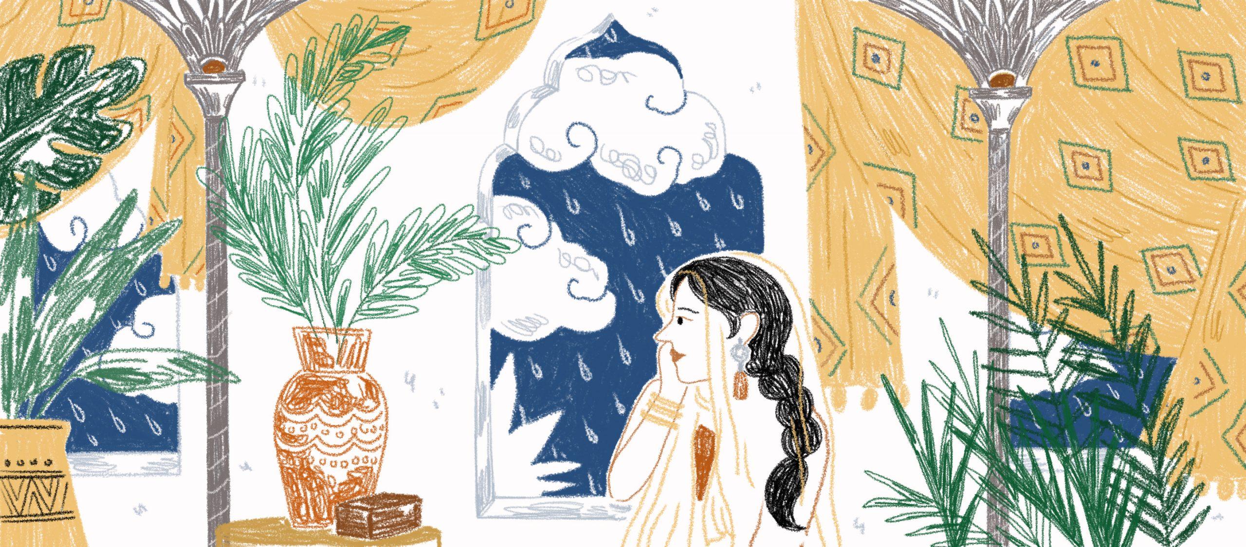 ฝนที่ตกทางโน้นหนาวถึงคนทางนี้ไหม ความหมายของสายฝนและการบอกรักในวรรณคดีสันสกฤต