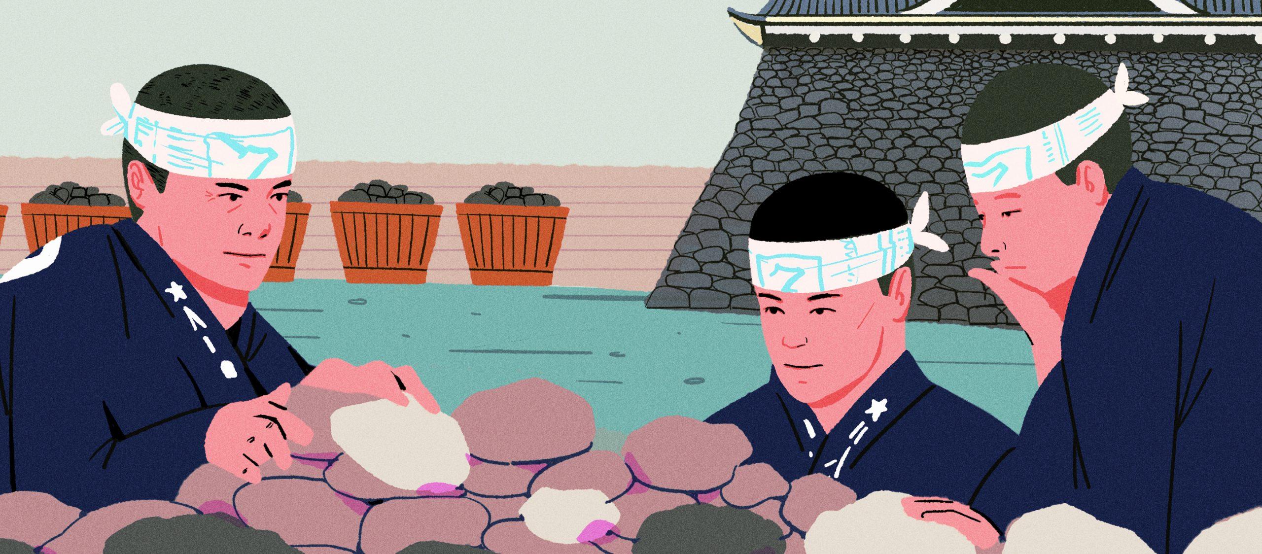 งานหิน Ishi-tsumi ศาสตร์การเรียงหินสุดคราฟต์ของญี่ปุ่นที่ต้องรู้หน้าและรู้ใจหิน