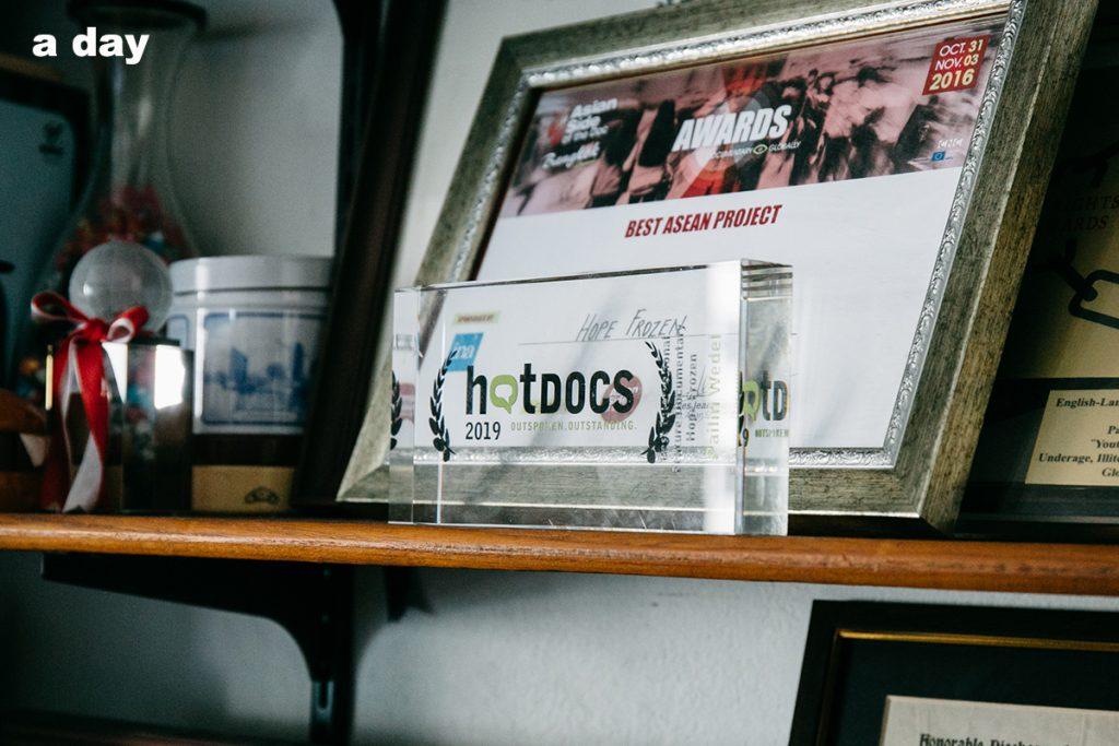 รางวัล Hot Docs ของ ไพลิน วีเด็ล