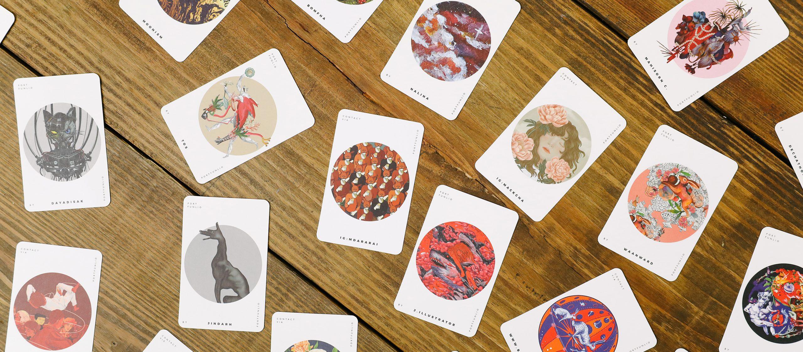 THE PORTFUNLIO   Matching Art Game จั่วการ์ดสุดอาร์ตที่ตั้งใจสร้างโอกาสการจ้างงานให้ศิลปินหน้าใหม่