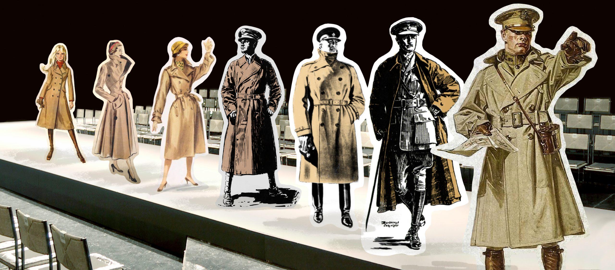 จากสนามรบสู่รันเวย์ ว่าด้วย trench coat กับแฟชั่นของคุณสุภาพบุรุษในสงครามโลกครั้งที่ 1