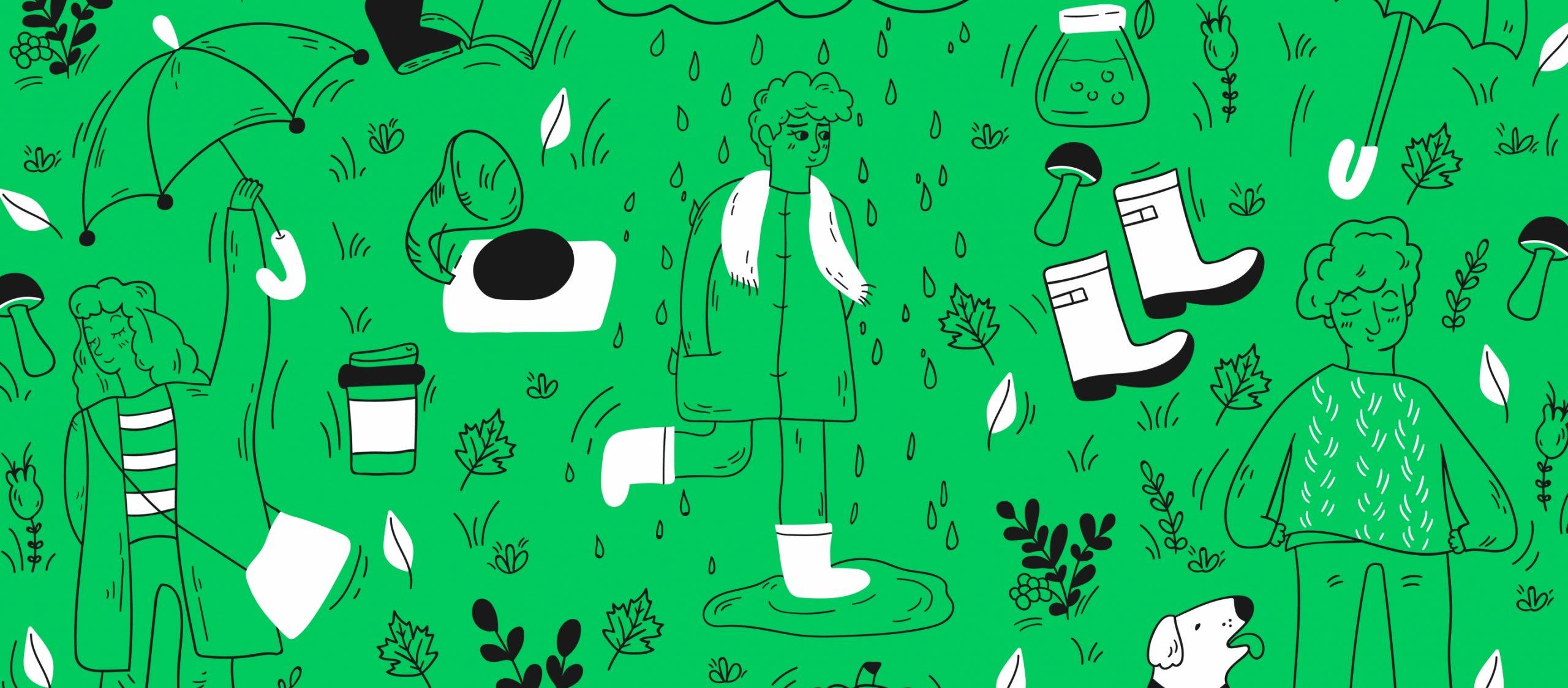 14 แทร็กฮิตคลายความคิดถึงในวันฝนพรำจาก 14 ศิลปินผู้รันวงการเพลงไทยตอนนี้