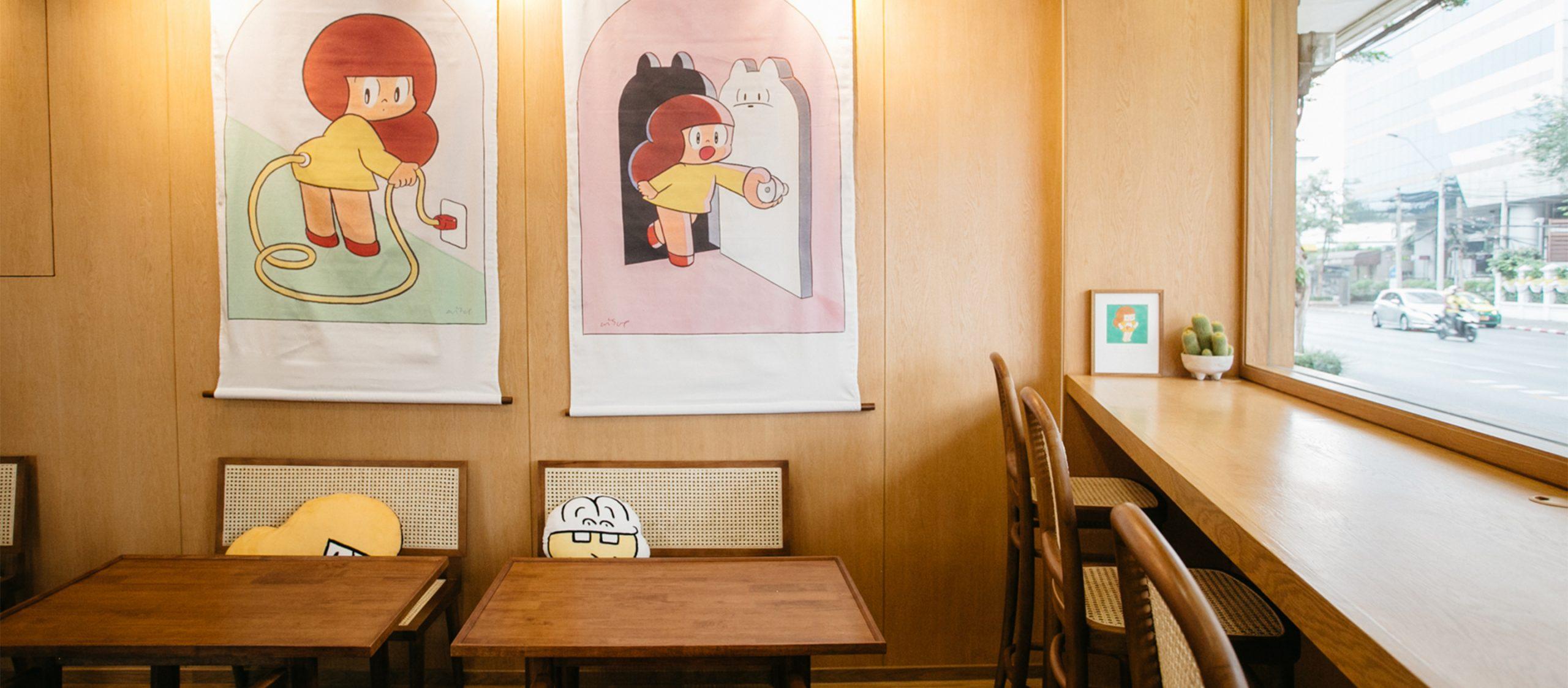 """""""อิ่มใจ อิ่มไปถึงท้องเลย"""" Mamuang Cafe คาเฟ่ที่เสิร์ฟเมนูอร่อยจากคาแร็กเตอร์ 'มะม่วงจัง'"""