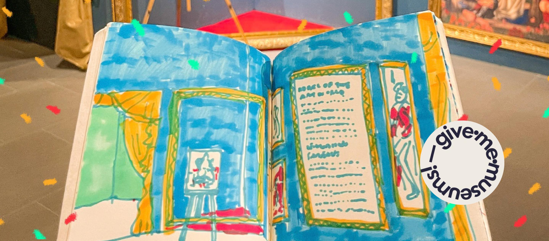 ถึงศิลปินอิมเพรสชั่นนิสม์หัวขบถทุกท่าน จาก Give.me.museums นักวาดอิมเพรสชั่นนิสม์รุ่นหลัง