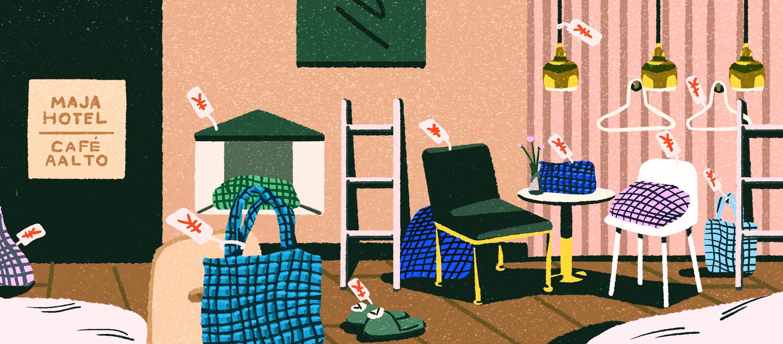 MAJA HOTEL KYOTO โรงแรมหนึ่งเดียวในญี่ปุ่นที่ Marimekko ดีไซน์ผ้าปูเตียงจนถึงชุดพนักงาน