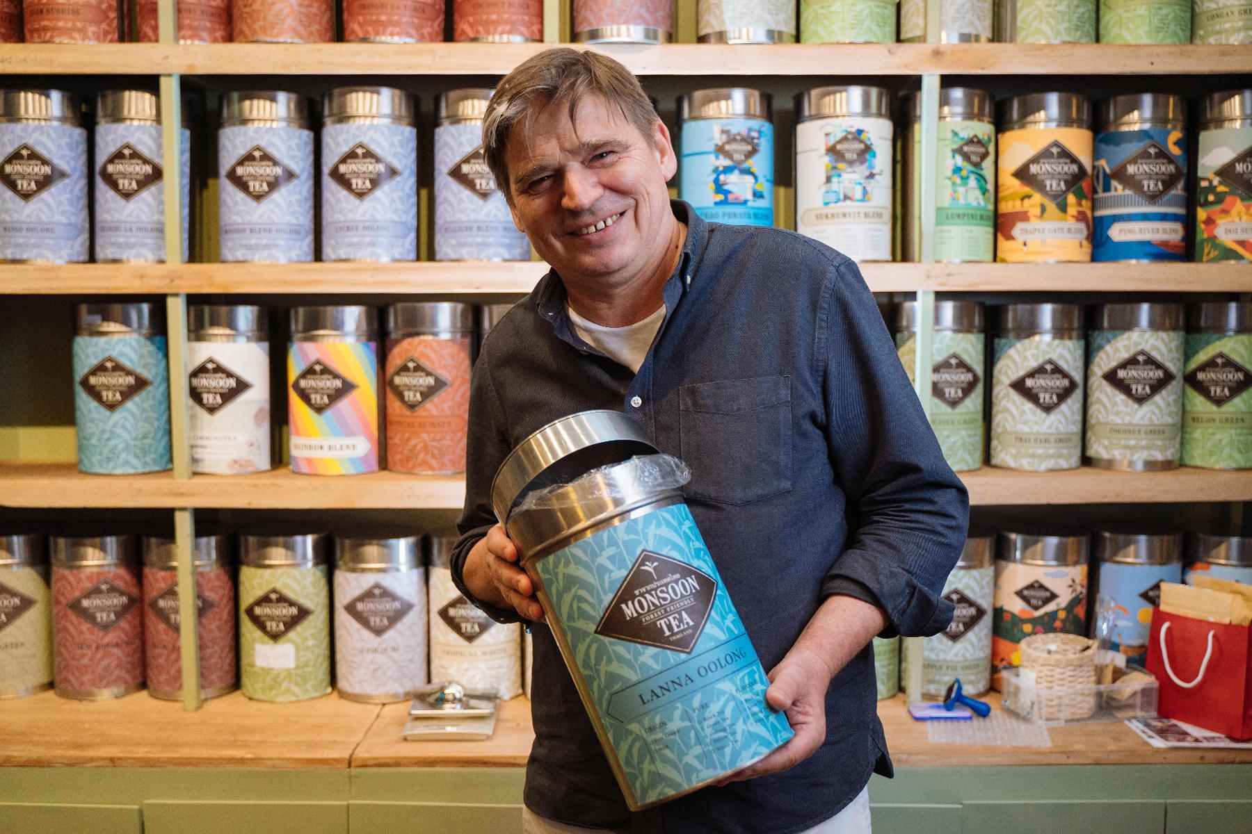 Monsoon Tea ชาไทยที่รักษาป่า สนับสนุนเกษตรกร แถมได้ไปเสิร์ฟในคาเฟ่ Prada