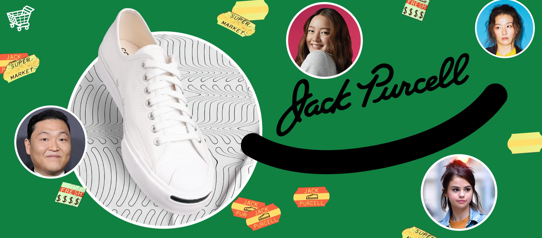 """""""เพราะรอยยิ้มสามารถเกิดขึ้นได้กับทุกคน"""" Jack Purcell รองเท้ารุ่นคลาสสิกที่เชื่อว่าทุกคนต่างมีรอยยิ้มในจังหวะของตัวเอง"""