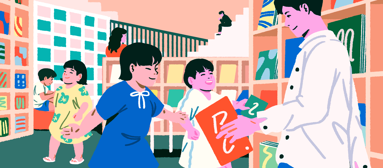 Nakanoshima Children's Book Forest ห้องสมุดที่เด็กๆ อ่าน เล่น และเป็นอิสระได้เต็มที่