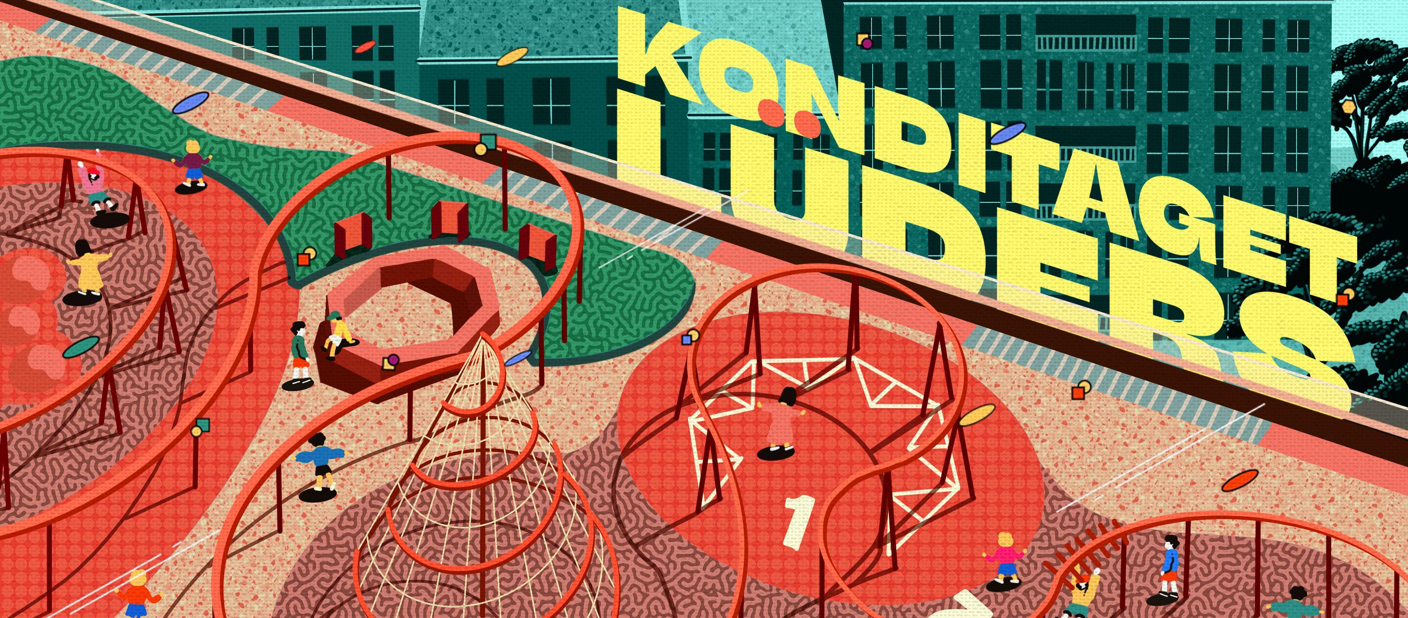 Konditaget Lüders เมื่อคนโคเปนเฮเกนเปลี่ยนดาดฟ้าอาคารจอดรถให้เป็นลานออกกำลังกายสาธารณะ